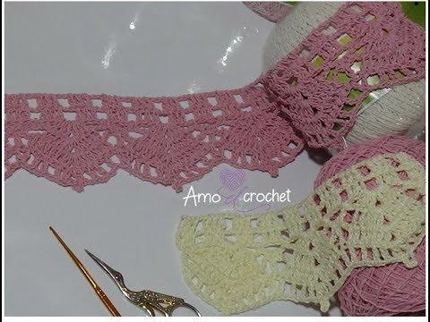 Guarda decorativa en crochet paso a paso