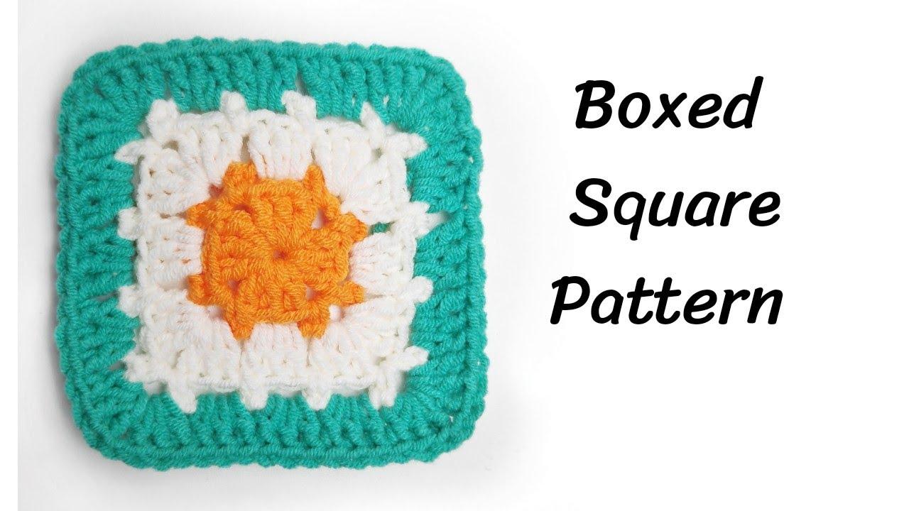 How To Crochet Block Stitch Granny Square