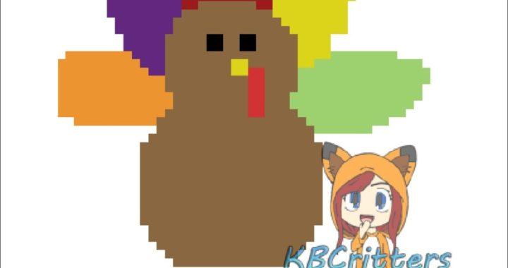 How To Crochet/Graph a Turkey Pillow!! Part 1