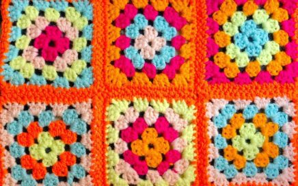 How to Crochet a Single Crochet Border & Join Granny Squares (Single Crochet Method)
