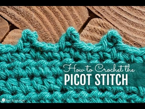 Picot Crochet Stitch Tutorial