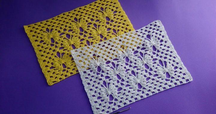 Punto de Mariposas Crochet