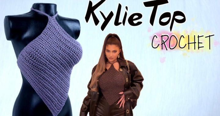 TOP CROCHET Kylie Jenner CROCHET TOP