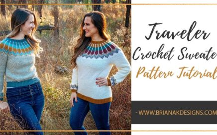 Traveler Crochet Sweater Pattern Tutorial