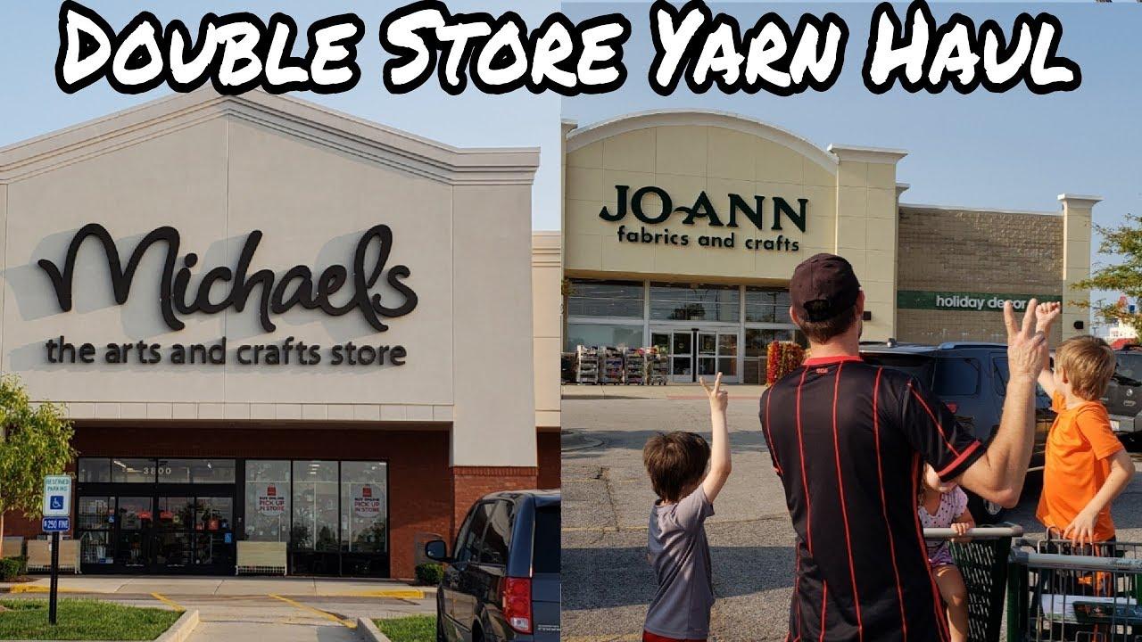 YARN SHOPPING @ JOANNS & MICHAELS | HUGE YARN HAUL | BAGODAY CROCHET