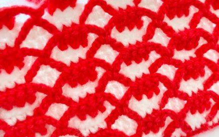 Yapımı Kolay Tığ İşi Örgü Battaniye Yelek Modeli how to crochet