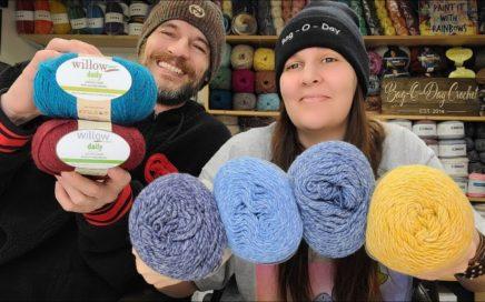 Yarn Unboxing   Willow Yarns   Bag O Day Crochet