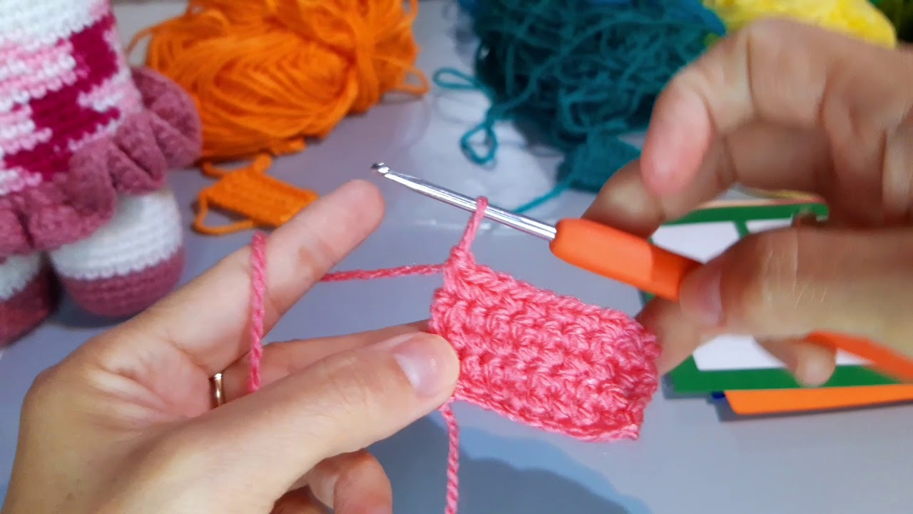 Puntos basicos tecnica crochet #3