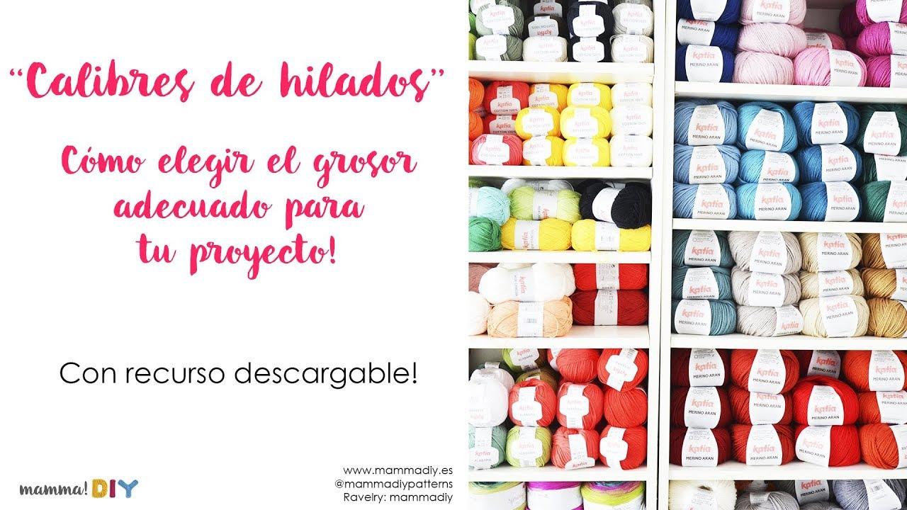 Tipos de lana para tejer en crochet o punto / Como elegir la mejor lana para tus proyectos