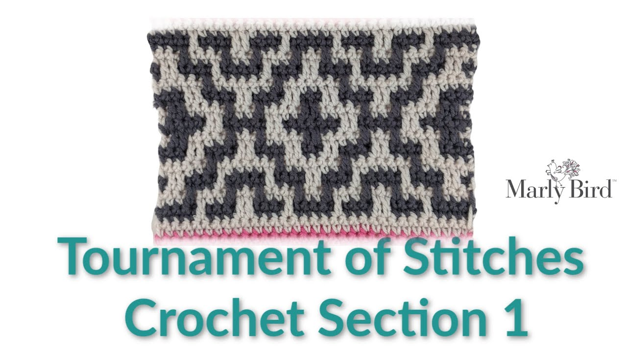 Tournament of Stitches Crochet Section 1      Right Handed