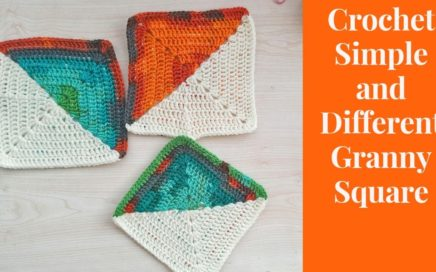 Crochet Simple and Different Granny Square